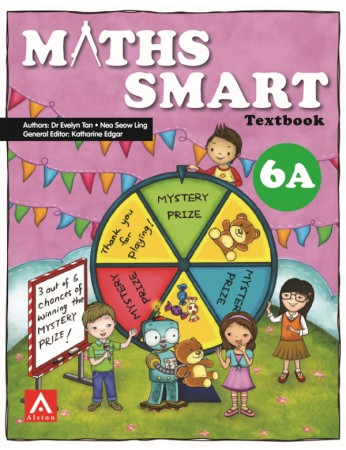 Maths SMART 6A Textbook