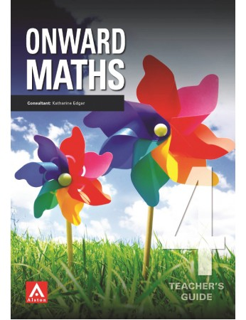 ONWARDS MATHS 4 Teacher's Guide