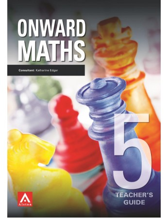 ONWARDS MATHS 5 Teacher's Guide