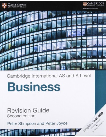 Cambridge International AS & A Level Business Revision Guide