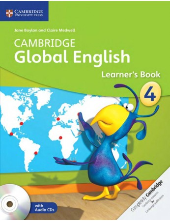 Cambridge Global English Stage 4 Learner's Book with Audio CDs (2)
