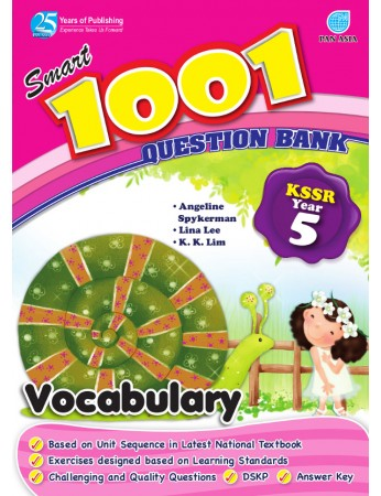 SMART 1001 QUESTION BANK Vocabulary Year 5