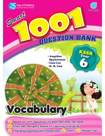 SMART 1001 QUESTION BANK Vocabulary Year 6