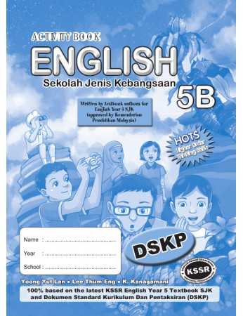 ACTIVITY BOOK English Year 5B