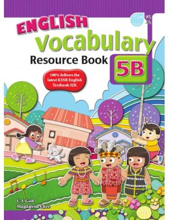 ENGLISH VOCABULARY RESOURCE BOOK Year 5B