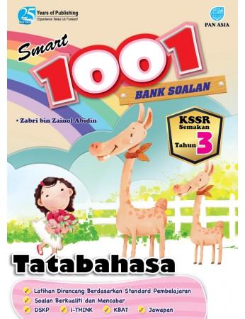 SMART 1001 BANK SOALAN Tatabahasa Tahun 3