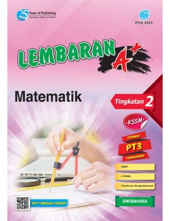 LEMBARAN A+ Matematik Tingkatan 2