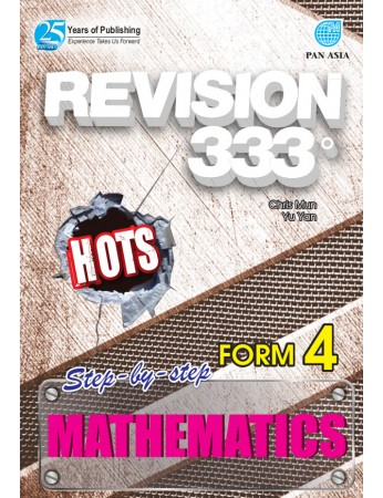 REVISION 333 Mathematics Form 4