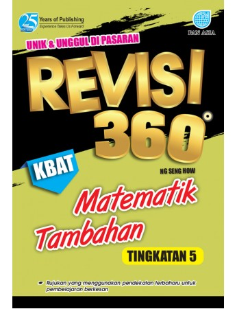 REVISI 360 Matematik Tambahan Tingkatan 5