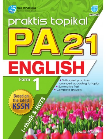 PRAKTIS TOPIKAL PA 21 English Form 1