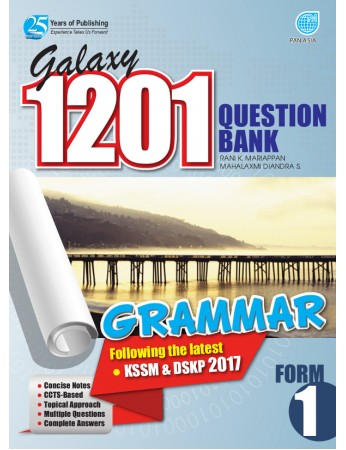 GALAXY 1201 QUESTION BANK Grammar Form 1