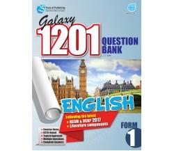 GALAXY 1201 QUESTION BANK English Form 1