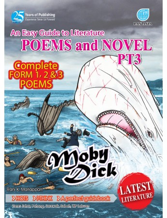 AN EASY GUIDE TO LITERATURE COMPONENT Poems and Novel Moby Dick PT3