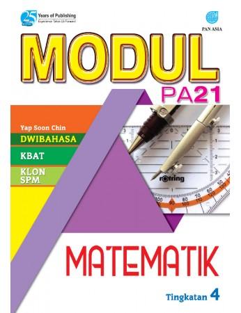 MODUL PA 21 Matematik Tingkatan 4