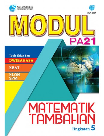 MODUL PA 21 Matematik Tambahan Tingkatan 5