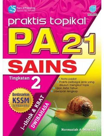 PRAKTIS TOPIKAL PA 21 Sains Tingkatan 2
