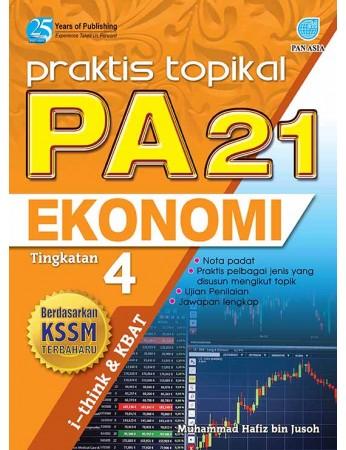 PRAKTIS TOPIKAL PA 21 Ekonomi Tingkatan 4