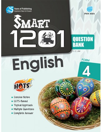 SMART 1201 QUESTION BANK English Form 4