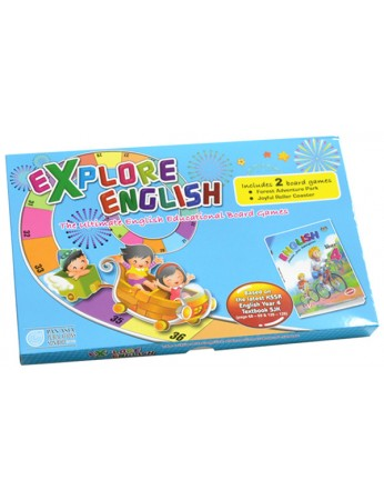 Explore English The Ultimate English Educational Board Games Year 4(SJK)