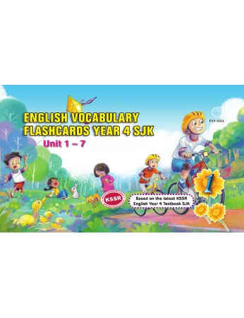 English Vocabulary Flashcards Year 4 (SJK)