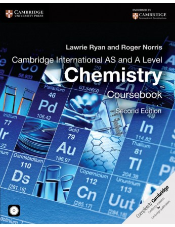 Cambridge International AS & A Level Chemistry Coursebook with CD-ROM (2nd edition)
