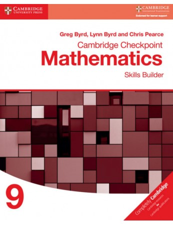 Cambridge Checkpoint Mathematics Skills Builder 9