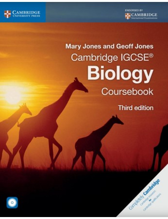 Cambridge IGCSE® Biology Coursebook with CD-ROM (3rd edition)