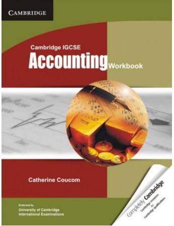 Cambridge IGCSE® Accounting Workbook