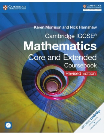 Cambridge IGCSE® Mathematics Core and Extended Coursebook with CD-ROM