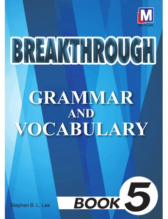 BREAKTHROUGH Grammar & Vocabulary Book 5