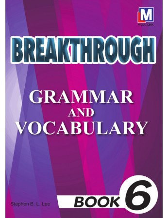 BREAKTHROUGH Grammar & Vocabulary Book 6