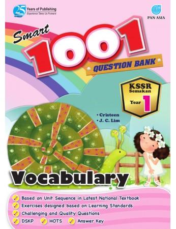 SMART 1001 QUESTION BANK Vocabulary Year 1 KSSR Semakan