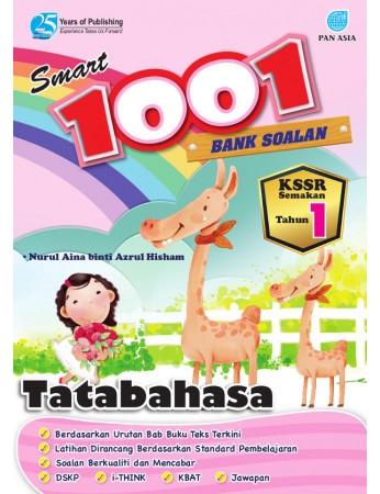 SMART 1001 BANK SOALAN Tatabahasa Tahun 1