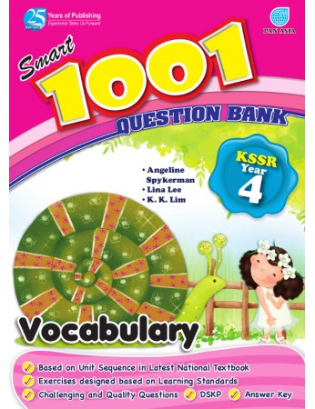 SMART 1001 QUESTION BANK Vocabulary Year 4