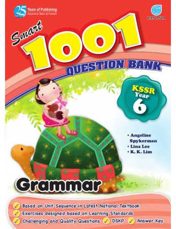 SMART 1001 QUESTION BANK Grammar Year 6