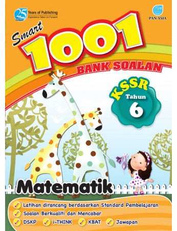 SMART 1001 BANK SOALAN Matematik Tahun 6