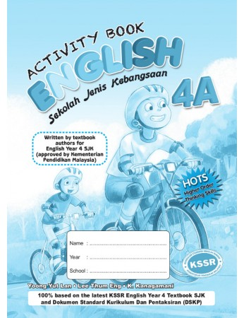 ACTIVITY BOOK English Year 4A