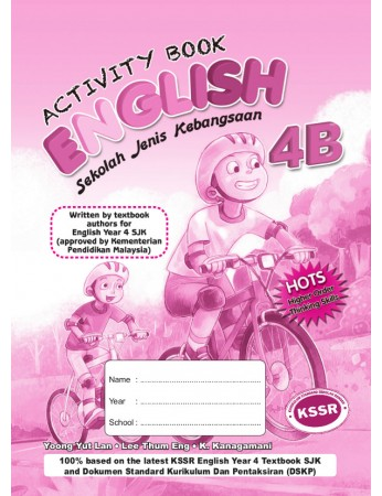 ACTIVITY BOOK English Year 4B