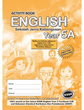 ACTIVITY BOOK English Year 5A