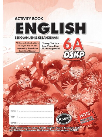 ACTIVITY BOOK English Year 6A