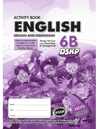 ACTIVITY BOOK English Year 6B