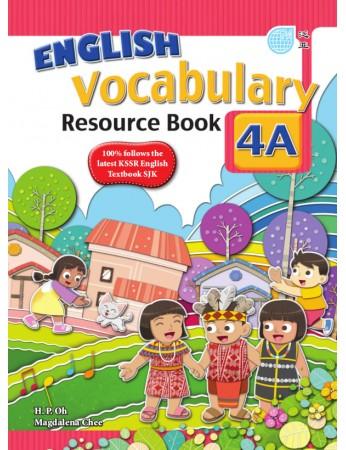 ENGLISH VOCABULARY RESOURCE BOOK Year 4A