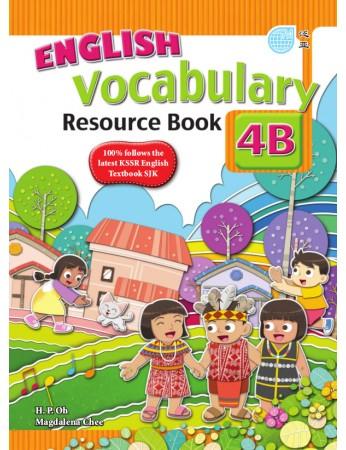 ENGLISH VOCABULARY RESOURCE BOOK Year 4B