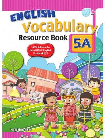 ENGLISH VOCABULARY RESOURCE BOOK Year 5A