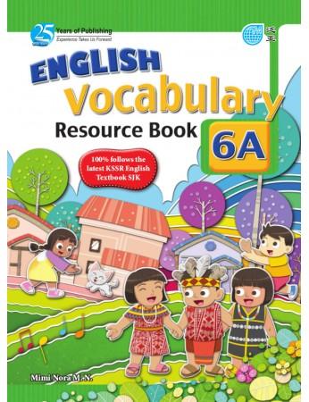ENGLISH VOCABULARY RESOURCE BOOK Year 6A