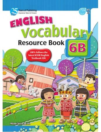 ENGLISH VOCABULARY RESOURCE BOOK Year 6B