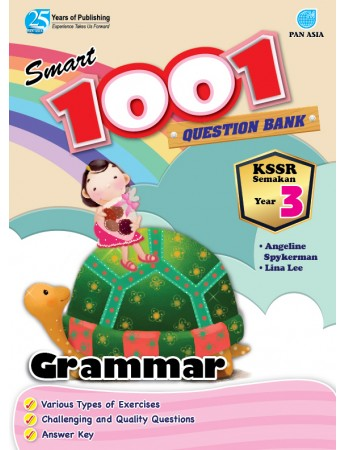 SMART 1001 QUESTION BANK Grammar Year 3