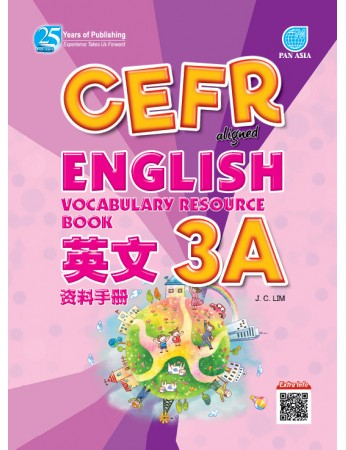 CEFR ALIGNED English Vocabulary Resource Book Year 3A