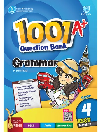 1001 A+ QUESTION BANK Grammar Year 4 KSSR Semakan