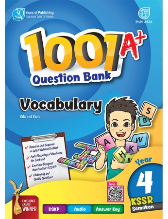 1001 A+ QUESTION BANK Vocabulary Year 4 KSSR Semakan